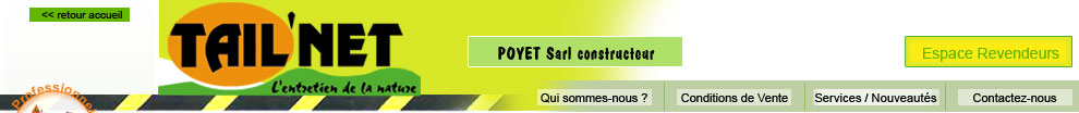 Tail'net Poyet SARL
